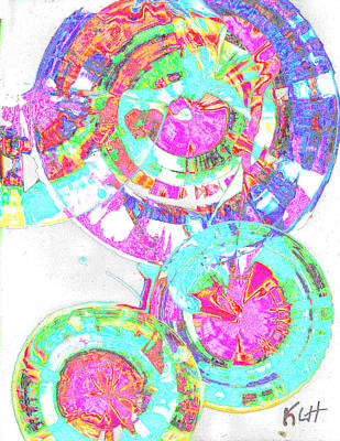 Sphere Series 965.030812vsscinvx3fddfx3 Art Print by Kris Haas