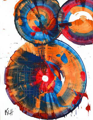 Painting - Sphere Series 966.030912 by Kris Haas