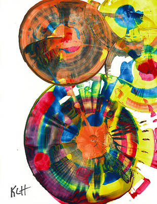 Painting - Sphere Series 967.030812 by Kris Haas