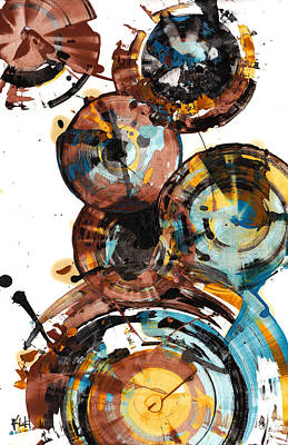 Painting - Sphere Series 993.042312 by Kris Haas