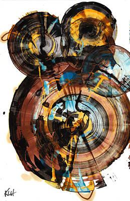 Painting - Sphere Series 994.042312 by Kris Haas