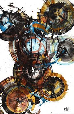 Painting - Sphere Series 995.042312 by Kris Haas