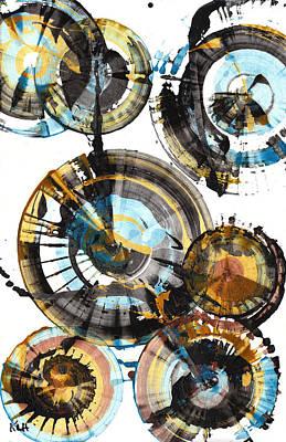 Painting - Sphere Series 996.042312 by Kris Haas