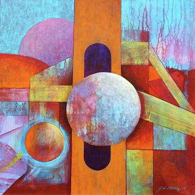 Painting - Spheres And Beams by J W Kelly