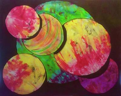 Tapestry - Textile - Spheres by Kay Shaffer