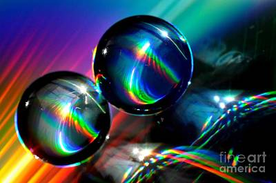 Photograph - Spheres by Sylvie Leandre