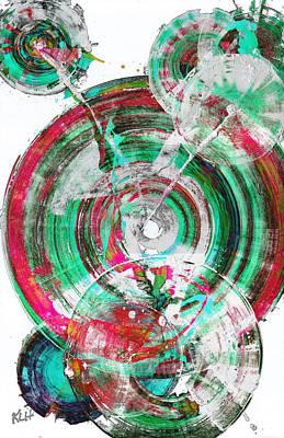 Painting - Spherical Joy Series 03.030211invertfadediffscwhsat by Kris Haas
