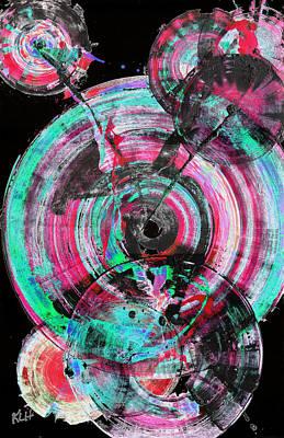 Painting - Spherical Joy Series 03.030211invertfadediffscwhsatinv by Kris Haas