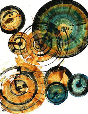 Painting - Spherical Joy Series 114.115.051911 by Kris Haas