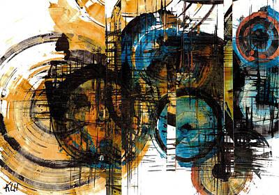 Spherical Joy Series 114ap.051911 Art Print by Kris Haas