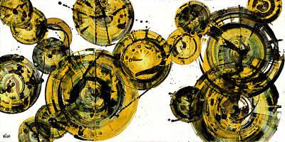 Painting - Spherical Joy Series 116.051911-2 by Kris Haas