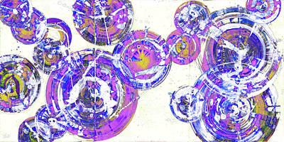 Painting - Spherical Joy Series 116.051911-2invfadedif by Kris Haas
