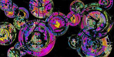 Painting - Spherical Joy Series 116.051911-4invfaddifinvsat by Kris Haas