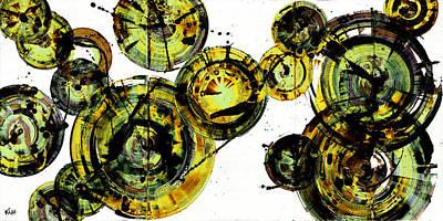 Painting - Spherical Joy Series 116.051911-a-2 by Kris Haas