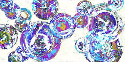 Painting - Spherical Joy Series 116.051911-ainvfadedif by Kris Haas