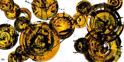 Painting - Spherical Joy Series 116.051911-dd-3 by Kris Haas