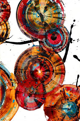 Painting - Spherical Joy Series 117b.051911 by Kris Haas