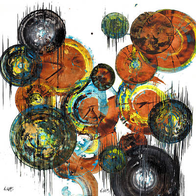 Painting - Spherical Joy Series 1195.1196.071812 by Kris Haas