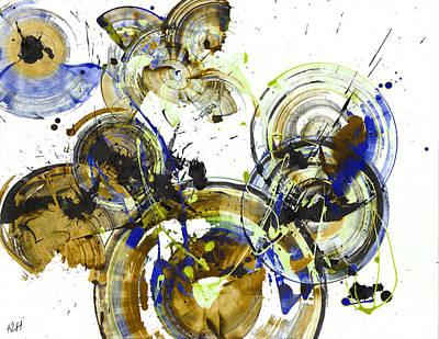 Painting - Spherical Joy Series 163.164-b.010111a by Kris Haas