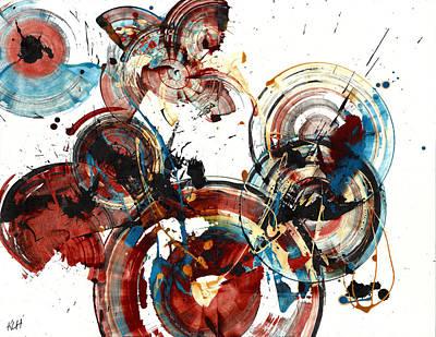 Painting - Spherical Joy Series 163.164.010111 by Kris Haas