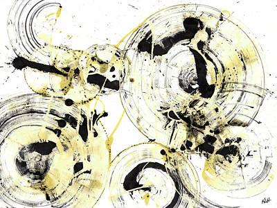 Painting - Spherical Joy Series 166.167.010811 by Kris Haas