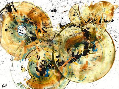 Painting - Spherical Joy Series 166.167.010811168.169.010911 by Kris Haas