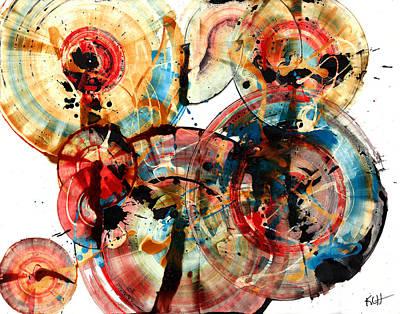 Painting - Spherical Joy Series 173.011211-1 by Kris Haas