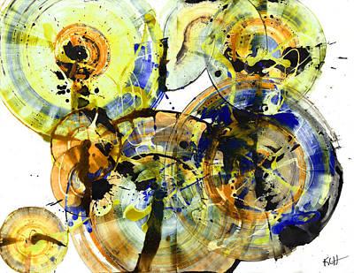 Painting - Spherical Joy Series 173.011211-2 by Kris Haas