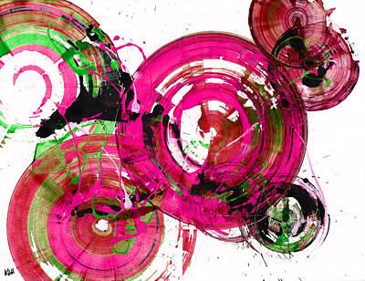 Painting - Spherical Joy Series 189.190.011711-2 by Kris Haas