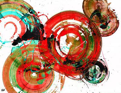 Painting - Spherical Joy Series 189.190.011711-3 by Kris Haas