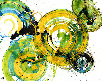 Painting - Spherical Joy Series 189.190.011711 by Kris Haas