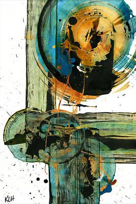 Painting - Spherical Joy Series 202.012011 by Kris Haas