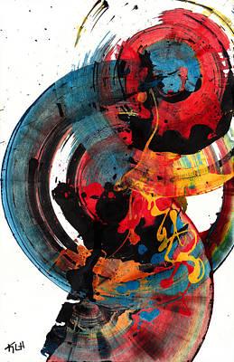 Painting - Spherical Joy Series 204.012011 by Kris Haas