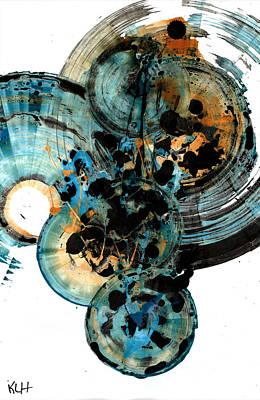 Painting - Spherical Joy Series 211.012011 by Kris Haas