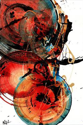 Painting - Spherical Joy Series 218.012611 by Kris Haas