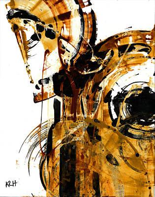 Spherical Joy Series 23.033111 Art Print by Kris Haas