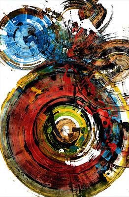Painting - Spherical Joy Series 237.021411 by Kris Haas
