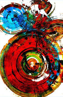 Painting - Spherical Joy Series 237.021411vs by Kris Haas