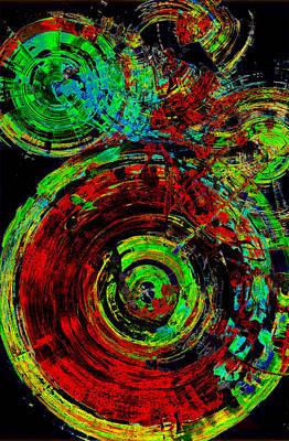 Painting - Spherical Joy Series 237.021411vsinvx2fddf by Kris Haas