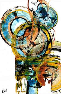 Painting - Spherical Joy Series 238.021411 by Kris Haas
