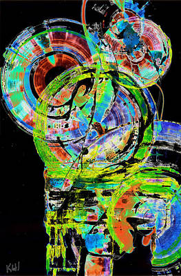 Painting - Spherical Joy Series 238.021411invx2fddf by Kris Haas