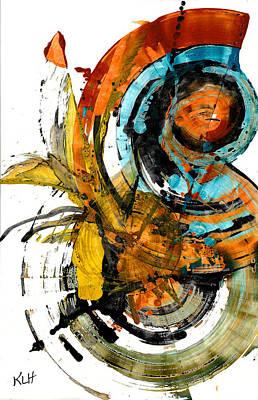 Painting - Spherical Joy Series 240.021411 by Kris Haas