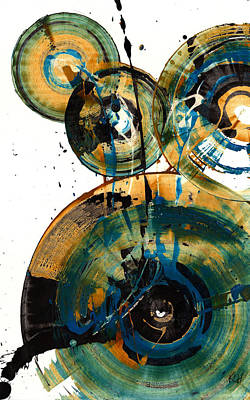 Spherical Joy Series 46.040511 Art Print by Kris Haas