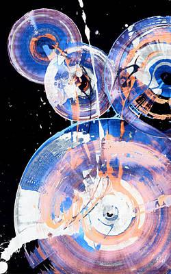 Painting - Spherical Joy Series 46.040511inv by Kris Haas