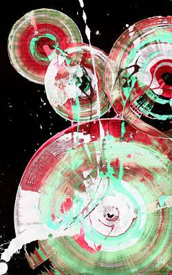 Painting - Spherical Joy Series 46.040511invsat138 by Kris Haas