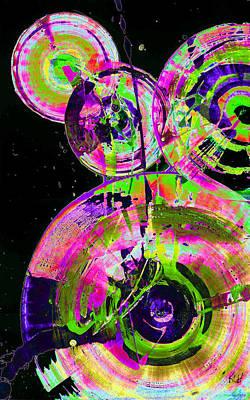 Painting - Spherical Joy Series 46.040511invx2fddfsinvs by Kris Haas