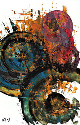Painting - Spherical Joy Series 768.112811 by Kris Haas