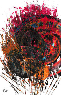 Painting - Spherical Joy Series 771.112911 by Kris Haas