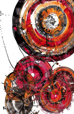 Painting - Spherical Joy Series 831.120511 by Kris Haas