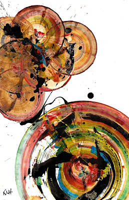 Painting - Spherical Joy Series 95.042311 by Kris Haas